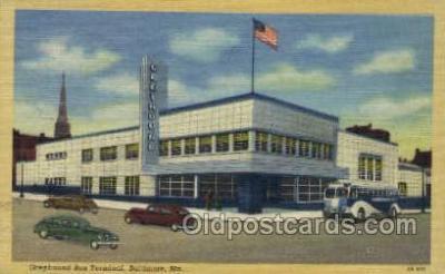 bus500003 - Greyhound bus terminal Baltimore Maryland USA