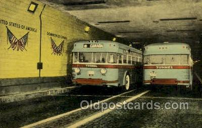 bus500008 - Tunnel Buses In Detroit Windsor Tunnel Canada
