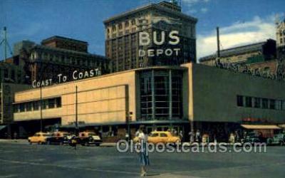 bus500011 - Overland Greyhound bus station Omaho Nebraska USA