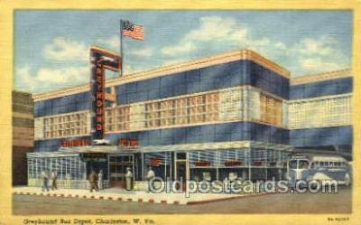 bus500012 - Greyhound bus depot Charleston West Virginia USA