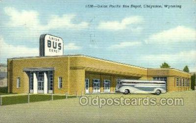 bus500016 - Union Pacific bus depot Chyenne Wyoming USA