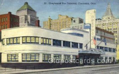bus500018 - Greyhound Bus Terminal Cincinnati Ohio USA
