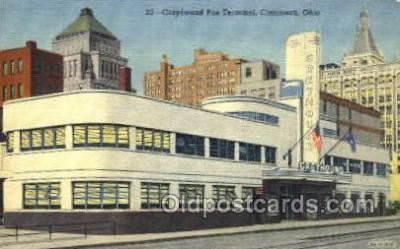 bus500021 - Greyhound Bus Terminal Cincinnati Ohio USA