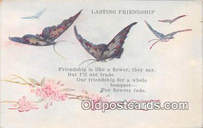 but000030 - Lasting Friendship  Postcard Post Card