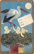 bab001135 - Baby Birth Vintage Collectable Postcards