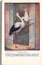 bab001144 - Baby Birth Vintage Collectable Postcards