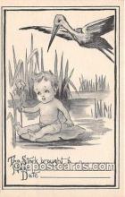 bab001146 - Baby Birth Vintage Collectable Postcards