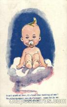 bbb001033 - Baby Bottle Post Card,  Post Card