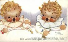 bbb001056 - Artist Freda Mabal Rose Baby Bottle Post Card,  Post Card