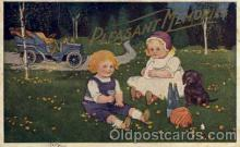 bbb001062 - Baby Bottle Post Card,  Post Card