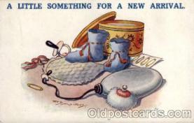 bbb001064 - Artist Reg Maurice Baby Bottle Post Card,  Post Card