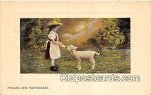 bbb001102 - Feeding the Motherless  Postcard Post Card