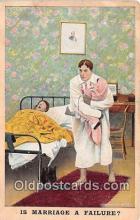 bbb001118 - Marriage a Failure  Postcard Post Card