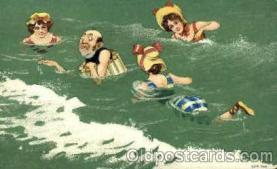 bch001002 - Beach Scenes, Ocean, Postcard Post Card