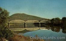 bdg001001 - Tunkhannock, PA USA Susquehanna River Bridge, Bridge Bridges, Post Card Post Card