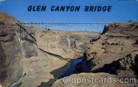 Page, Arizona Bridge Bridges, Post Card Post Card