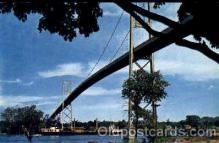 bdg001015 - Ontario, Canada  Thousand Islands International Bridge