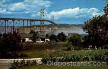 bdg001016 - Newport, Rhode Island USA  Mt. Hope Bridge