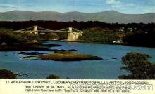 The Menai Suspension Bridge