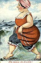 bea001091 - Bathing Beauty Post Card Post Card