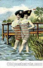 bea001110 - Bathing Beauty Post Card Post Card