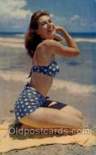 bea001180 - Beachcomber Bathing Beauty Old Vintage Antique Postcard Post Card