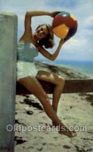bea001181 - Bathing Beauty Old Vintage Antique Postcard Post Card