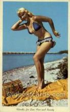 bea001186 - Bathing Beauty Old Vintage Antique Postcard Post Card