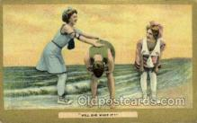 bea001259 - Bathing Beauty Old Vintage Antique Postcard Post Card