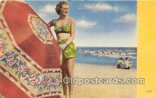 bea001275 - Beach Scene, Bathing Beauty, Vintage Collectable Postcards