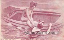 bea001282 - Beach Scene, Bathing Beauty, Vintage Collectable Postcards