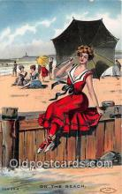 bea001299 - Beach Scene, Bathing Beauty, Vintage Collectable Postcards