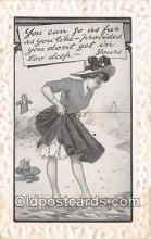 bea001301 - Beach Scene, Bathing Beauty, Vintage Collectable Postcards