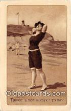 bea001307 - Beach Scene, Bathing Beauty, Vintage Collectable Postcards