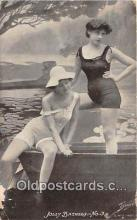 bea001323 - Beach Scene, Bathing Beauty, Vintage Collectable Postcards