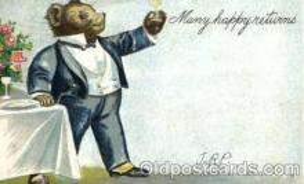 ber001028 - Bear Bears Postcard Post Card