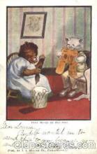 ber001043 - Busy bear Bear, Bears, Postcard Post Card