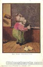 ber001049 - Bear teach Bear, Bears, Postcard Post Card