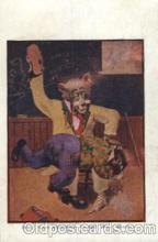 ber001059 - Busy Bear, Bears, Postcard Post Card