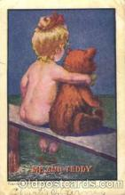 ber001062 - Teddy Bare, M.DS Bear, Bears, Postcard Post Card