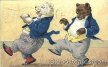 ber001067 - Bear, Bears, Postcard Post Card