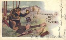 ber001084 - Bear, Bears, Postcard Post Card