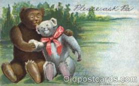 ber001092 - Please Ask PA, Bear, Bears, Postcard Post Card