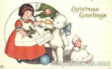 ber001095 - Christmas Bear, Bears, Postcard Post Card