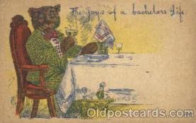 ber001100 - Artist Wells Bear, Bears, Postcard Post Card