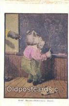 ber001284 - Busy Bear, Somethig Doing Bear Bears Postcard Post Card Old Vintage Antique