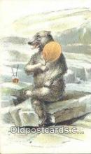 ber001496 - Bear Postcard Bear Post Card Old Vintage Antique