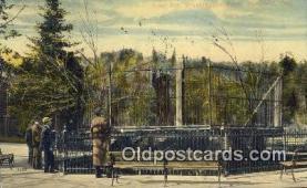 ber001721 - Washington Park, Portland Oregon, USA Bear Postcard,  Bear Post Card Old Vintage Antique
