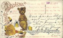 ber001725 - Artist Outcault, Bear Postcard Post Card Old Vintage Antique