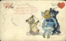 ber001726 - Artist Outcault, Bear Postcard Post Card Old Vintage Antique